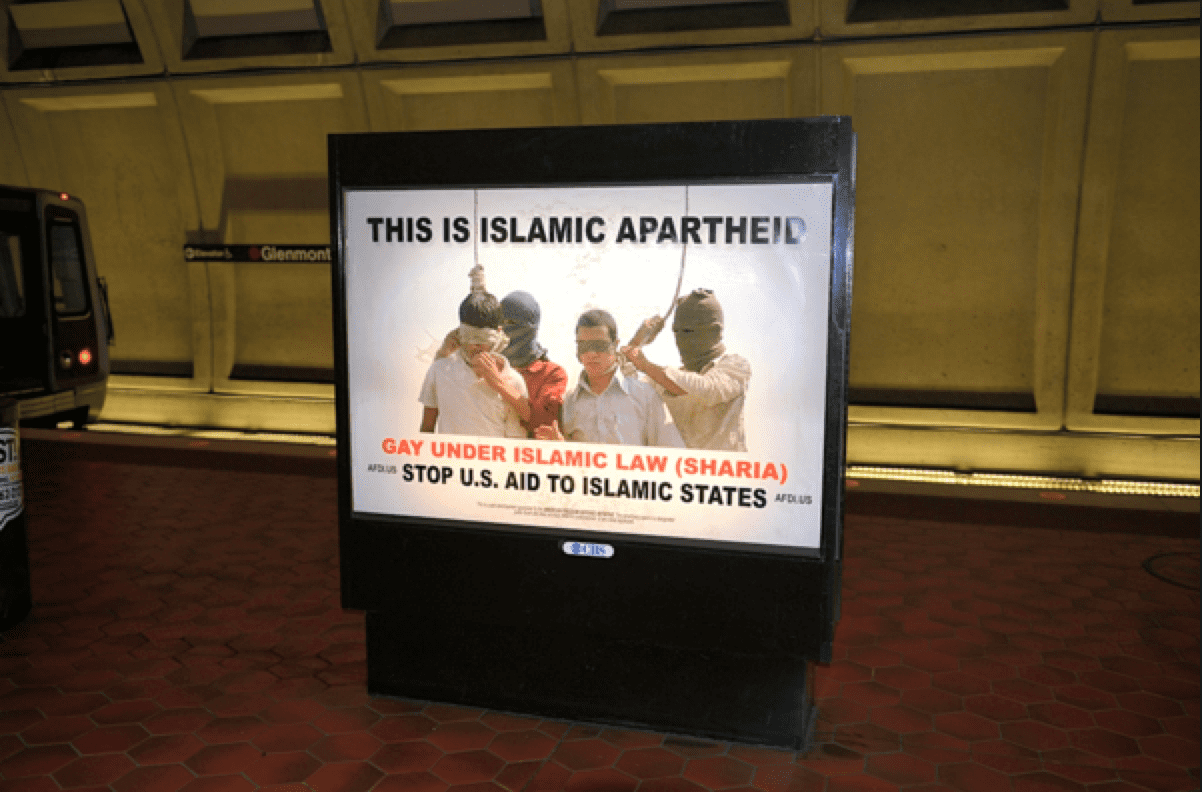 gay sharia afdi apartheid ad
