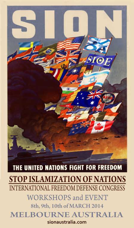 SION Australia poster