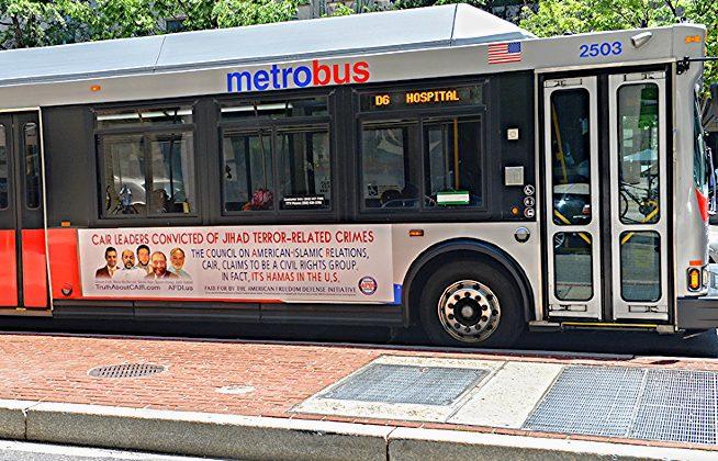 CAIR AFDI bus ad DC