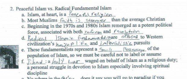 Islam in the classroom