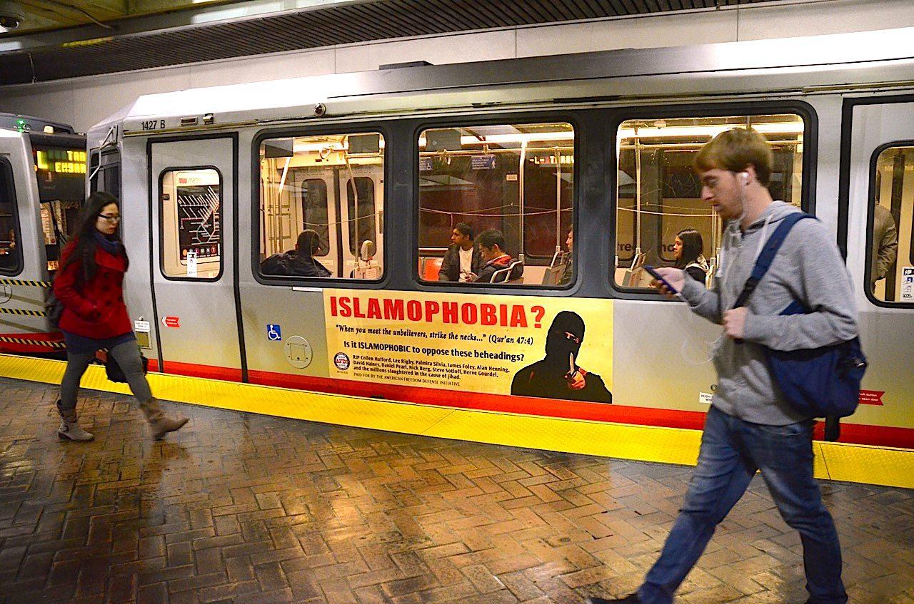 afdi islamophobia SF ad