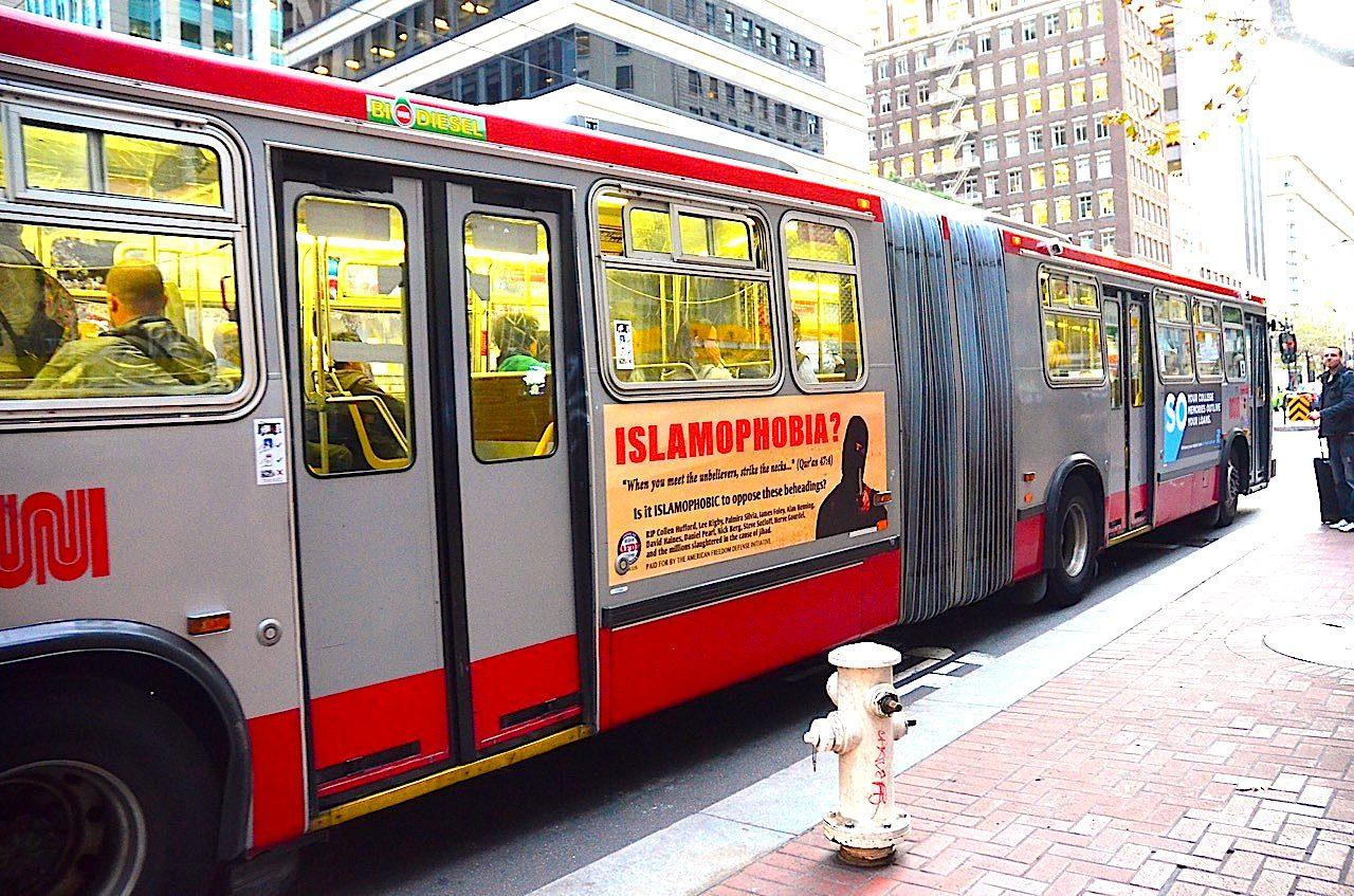 bus ad islamophobia