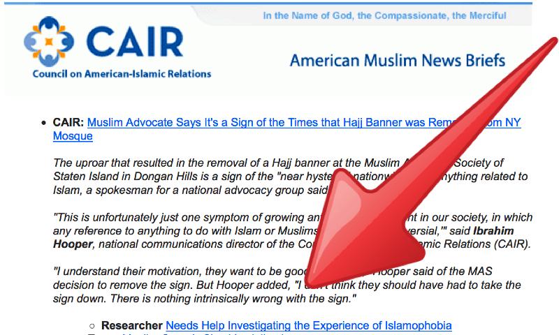 cair islamophobia