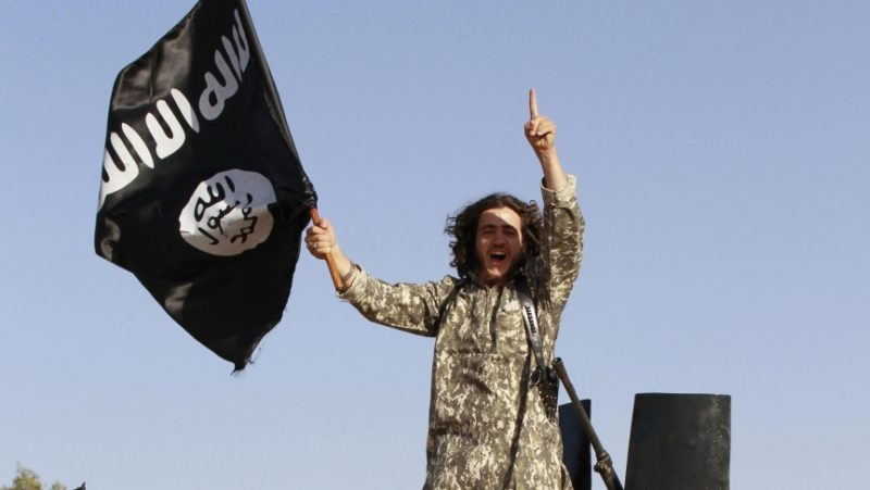 ISIS hand signal