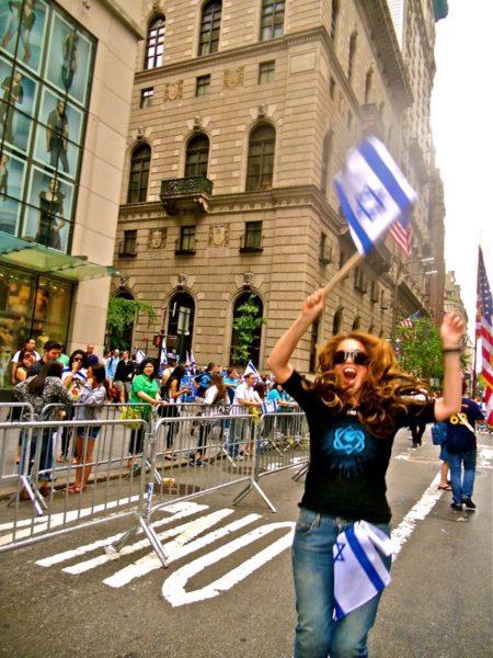 pamela geller Israel day parade