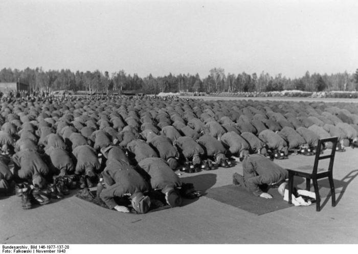 hitlers muslim armies