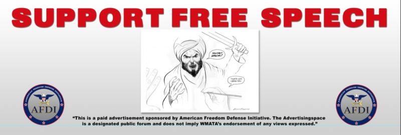 AFDI free speech bus