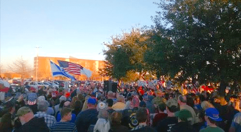 Texas rally