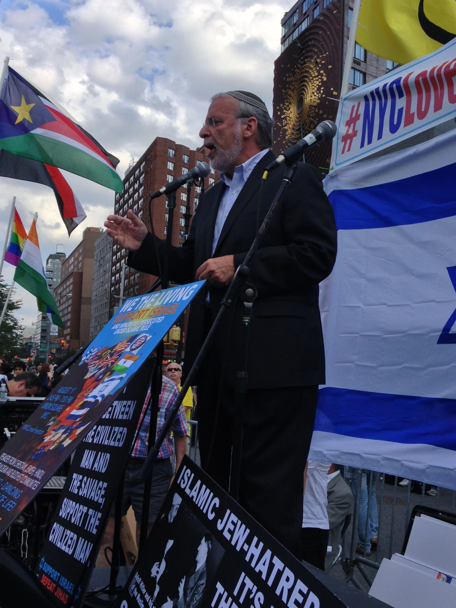 Hikind afdi rally
