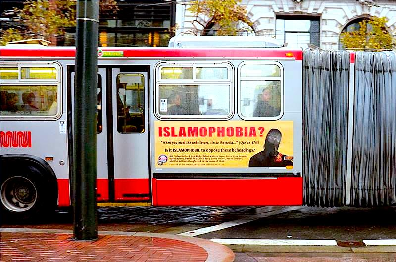 San Francisco_Bus_Queenafdi islamophobia