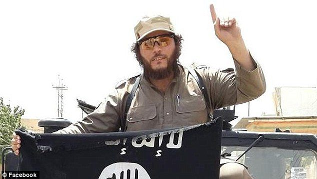 islamic state finger 2