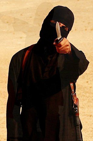 Jihadi John video grabs from Steven Sotloff beheading video