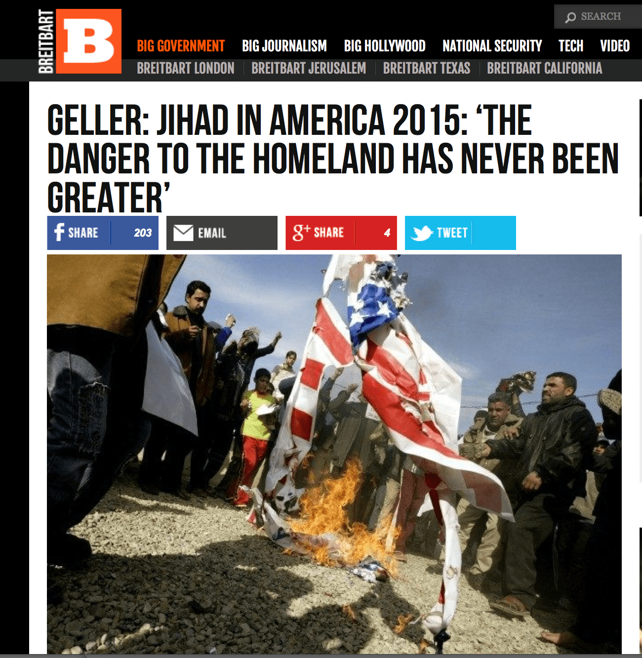geller in breitbart  the list