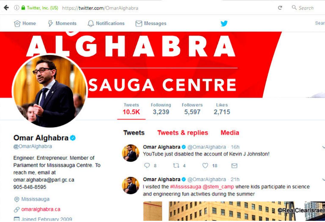 Muslim Member of Canadian Parliament Omar Alghabra ...
