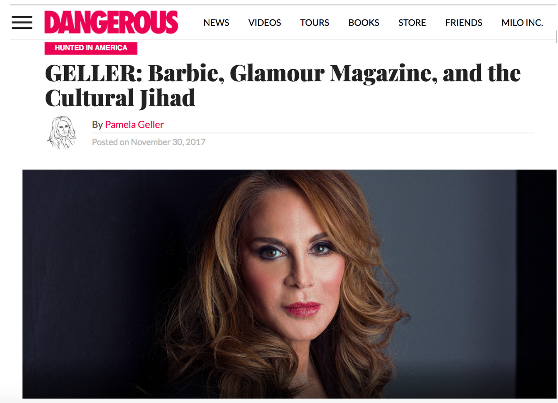 Good News Pamela Gellers First Weekly Column For Milos Newsite