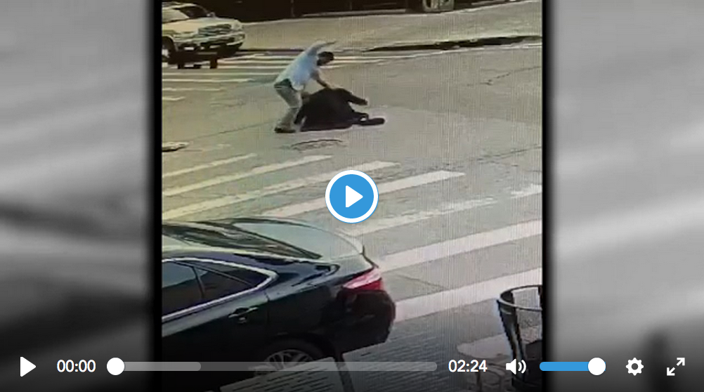 "SHOCK Video: NY Muslim was shouting ""ALLAH"" and ""kill all the Jews"" while he BEAT elderly Jewish man on his way to synagogue - Geller Report"