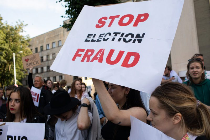 90% of Voters Concerned About Election Fraud, A Third Say 'Biden' Stole Election